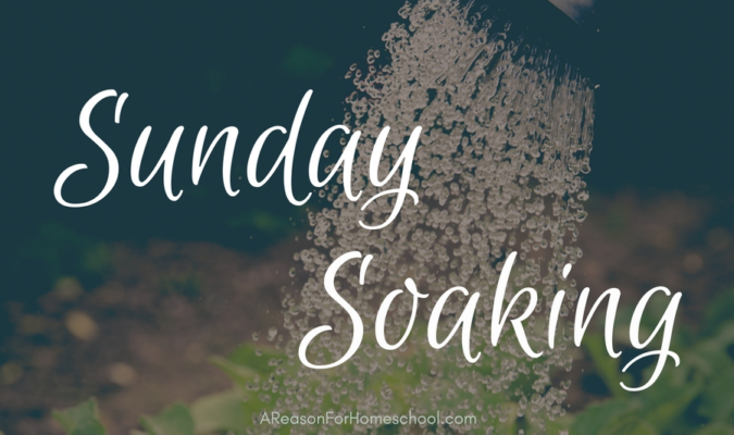 Sunday Soaking:  Blessing Our Children