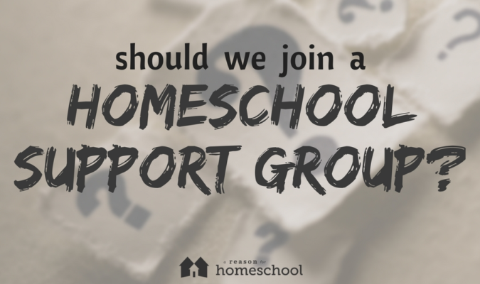 Should We Join a Homeschool Support Group?
