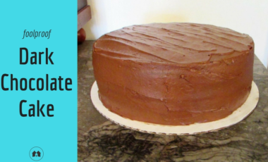 dark chocolate cake scratch recipe homeschool homeschooling