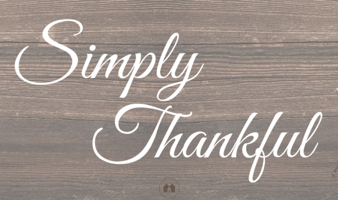Simply Thankful