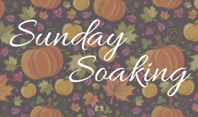 Sunday Soaking: We Will Reap A Harvest