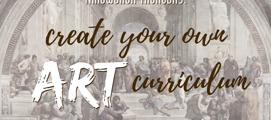 Throwback Thursday: Create Your Own Art Curriculum (with FREE DOWNLOADS!)