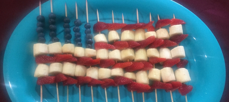 Freedom, Peace, and Edible Flags