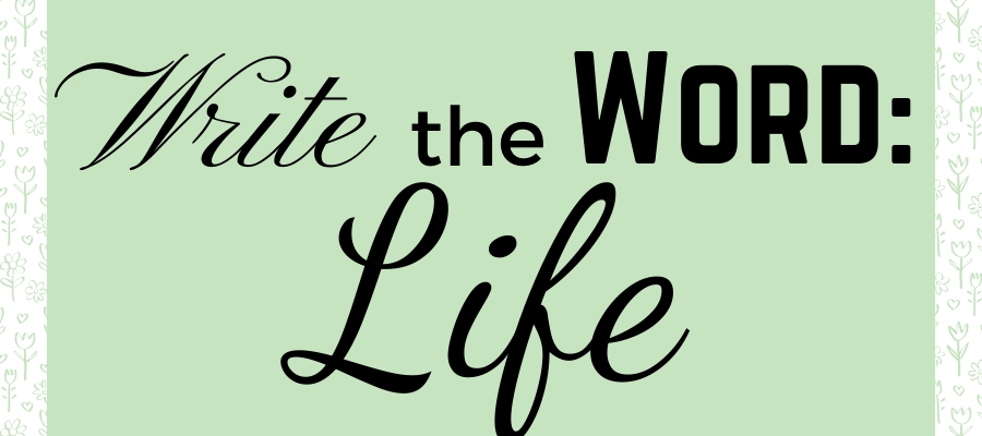 Write the Word: LIFE (with Free Journaling Guide)